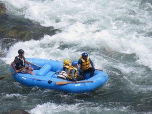 Y'a beaucoup d'eau non ? - Buller River - Rafting - Nouvelle-Zélande