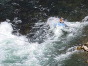 On est tout mouillés ! - Buller River - Rafting - Nouvelle-Zélande