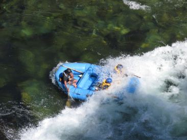 Une seconde plus tard... - Buller River - Rafting - Nouvelle-Zélande
