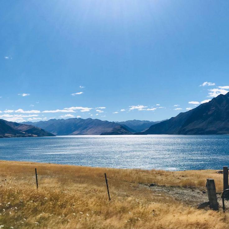 Lac Hawea - Nouvelle Zélande