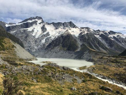 Mueller glacier - Hooker Valley Track - Mont Cook - Nouvelle-Zélande