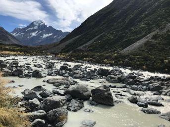 Hooker River - Mont Cook - Nouvelle-Zélande