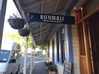 """Restaurant """"Français"""" - Akaroa - Nouvelle-Zélande"""