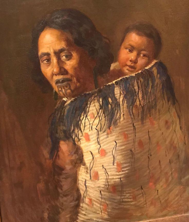 Femme Maori - Christchurch Art Gallery Te Puna - Nouvelle-Zélande