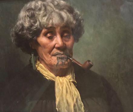 Maori et influence Européenne - Christchurch Art Gallery Te Puna - Nouvelle-Zélande