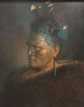Chef Maori - Christchurch Art Gallery Te Puna - Nouvelle-Zélande
