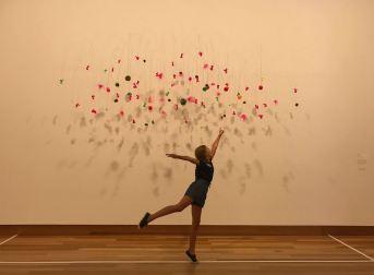 Légèreté et poésie - Christchurch Art Gallery Te Puna - Nouvelle-Zélande