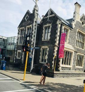 Immeuble Victorien ayant résisté au tremblement de terre - Christchurch - Nouvelle-Zélande