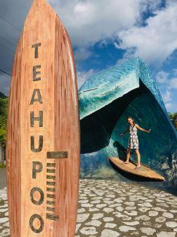 La vague de Teahupoo - Tahiti-Iti - Polynésie