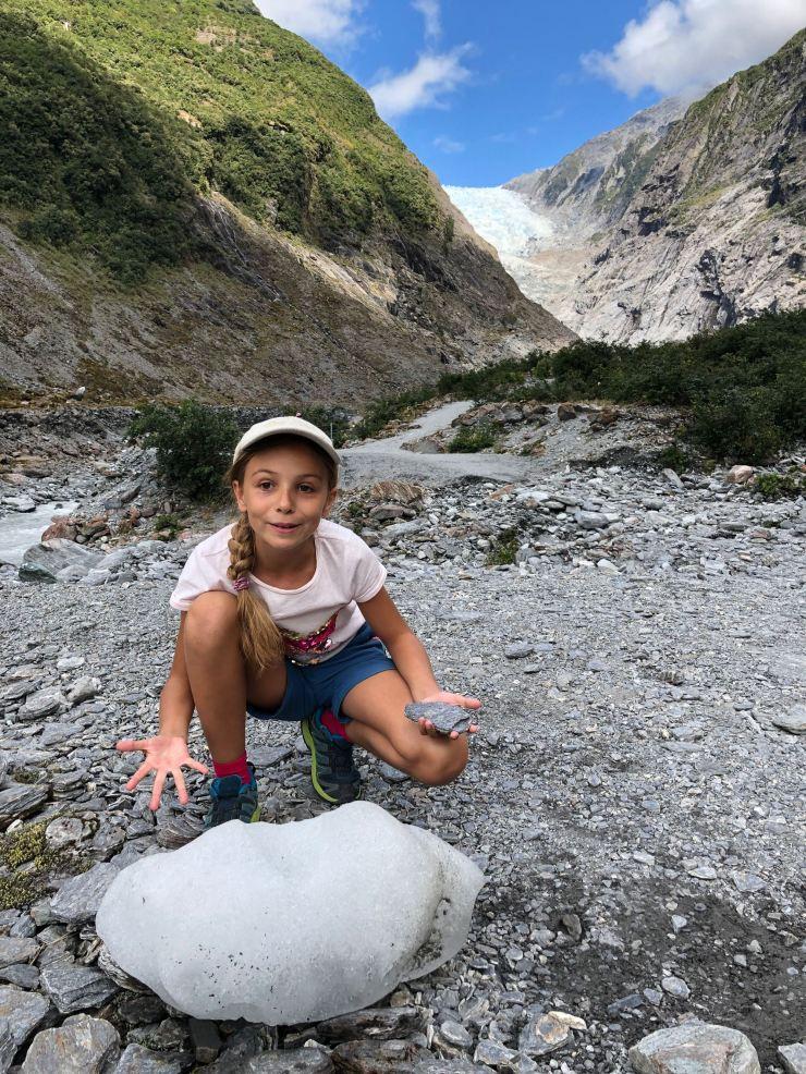 Whaou, y'a de la glace jusqu'ici ! - Franz Joseph glacier - Nouvelle-Zélande