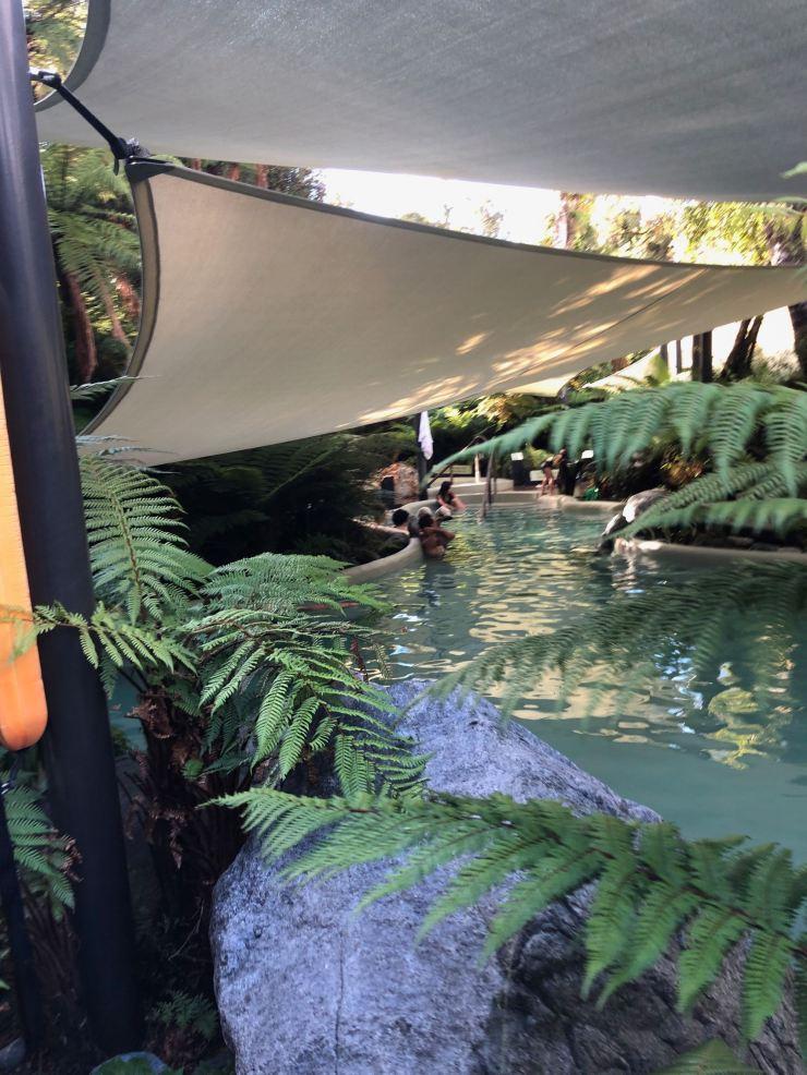 Hot Pool à Franz Joseph - Nouvelle-Zélande