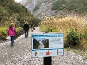 Donc en 20 ans, le glacier a disparu de notre champ de vision...- Fox Glacier - Nouvelle-Zélande