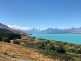 On the Road - Découverte du lac Pukaki et du Mont Cook - Nouvelle-Zélande