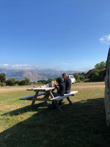 Dernier petit déjeuner - Banks Peninsula - Nouvelle-Zélande