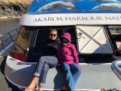 En croisière - Akaroa - Banks Peninsula - Nouvelle-Zélande