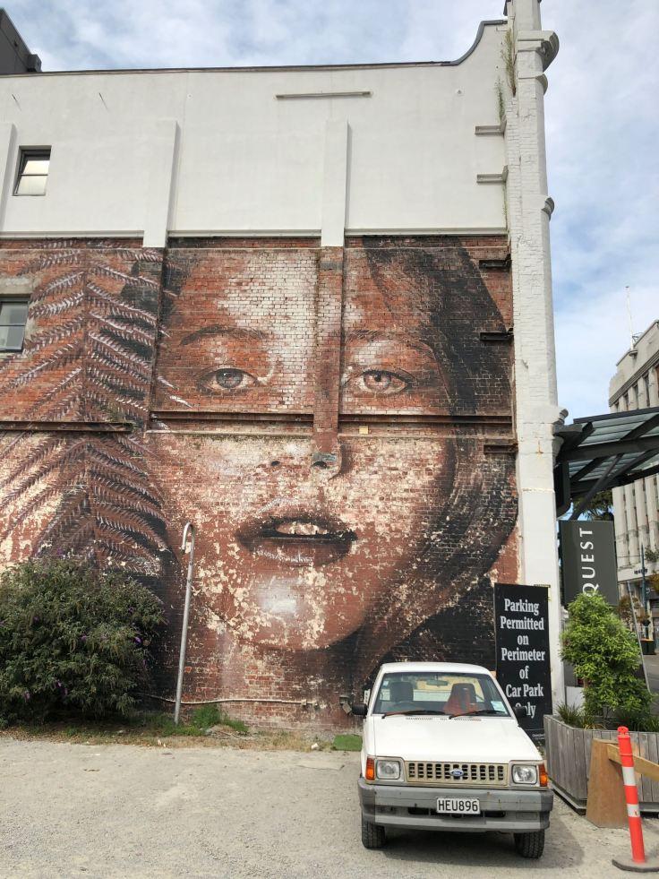 Street Art - Christchurch - Nouvelle-Zélande