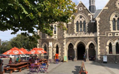 Joli immeuble victorien rénové suite au tremblement de terre de 2011 - Christchurch - Nouvelle-Zélande