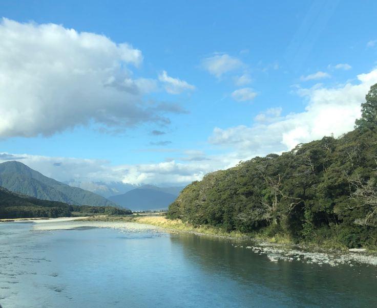Sur la Haast Pass Road - Nouvelle-Zélande