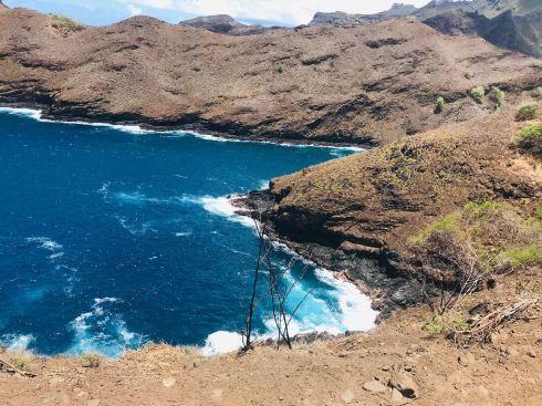 Hautes falaises - Hiva Oa - Iles Marquises - Polynésie