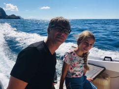 Geoffrey et Eden en route vers la vallée d'Hakaui - Nuku Hiva - Iles Marquises - Polynésie