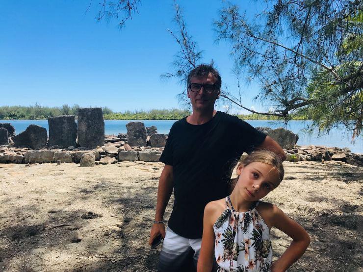 Visite de Marae - Huahine - Polynésie