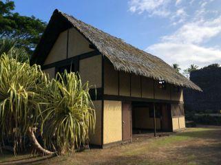 La Maison du Jouir dans le Musée Gauguin - Atuana - Hiva Oa - Iles Marquises - Polynésie