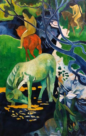 Reproduction des toiles de Gauguin - Musée Gauguin - Atuana - Hiva Oa - Iles Marquises - Polynésie