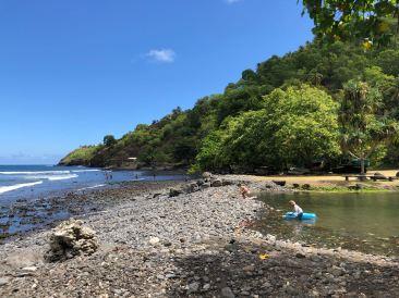 Plage de Nahoe - Hiva Oa - Iles Marquises - Polynésie