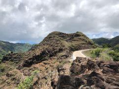 La piste sur les crêtes - Hiva Oa - Iles Marquises - Polynésie