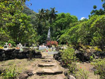 Cimetière - Hapatoni - Tahuata - Iles Marquises - Polynésie