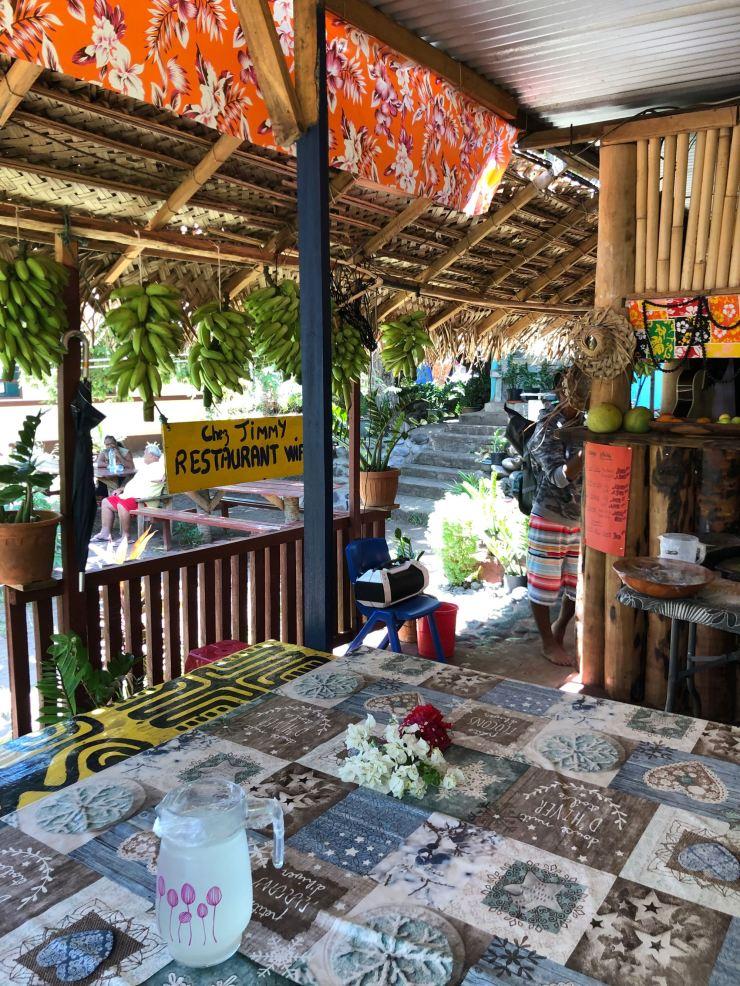 Chez Jimmy - Vaitahu - Tahuata - Iles Marquises - Polynésie
