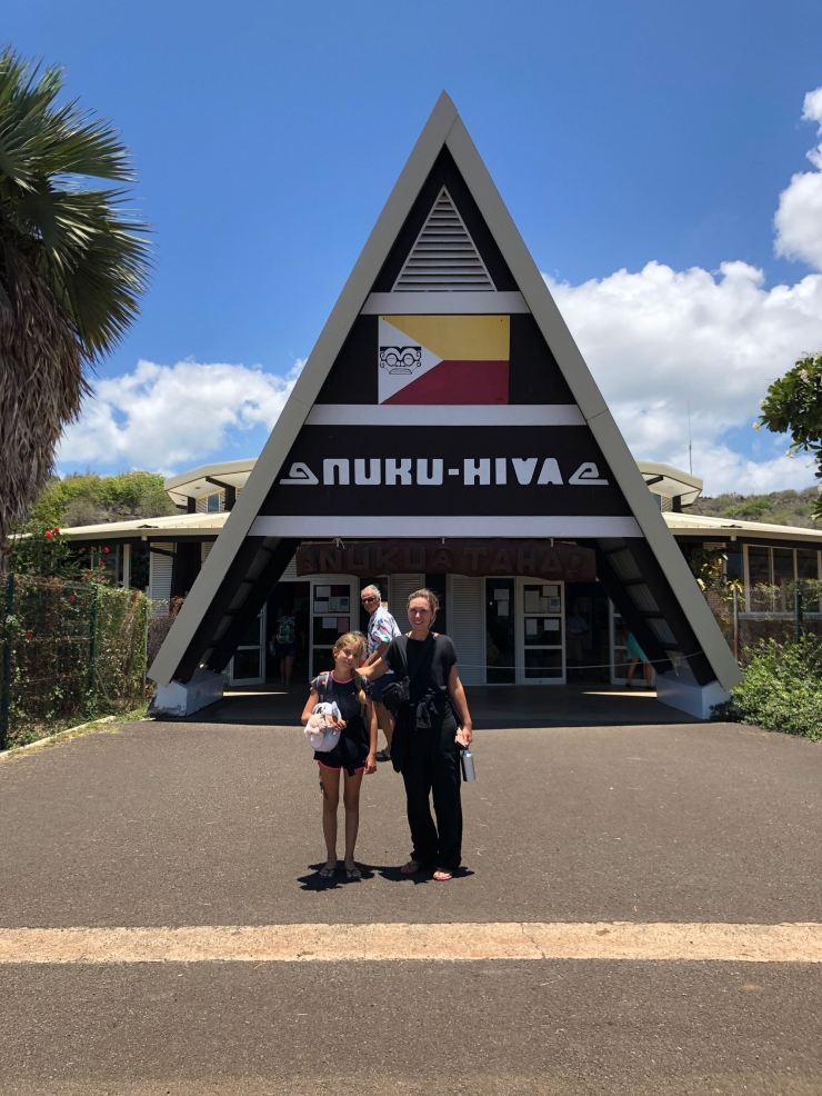Bienvenus à Nuku Hiva - Iles Marquises - Polynésie