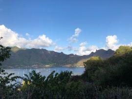 La baie de Teaiohae de retour de la baie Colette - Nuku Hiva - Iles Marquises - Polynésie