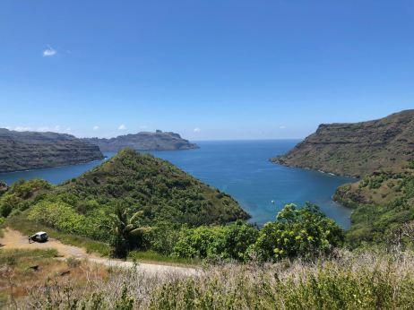 En chemin vers Anaho - Nuku Hiva - Iles Marquises - Polynésie