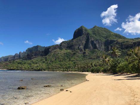 La plage d'Anaho - Nuku Hiva - Iles Marquises - Polynésie