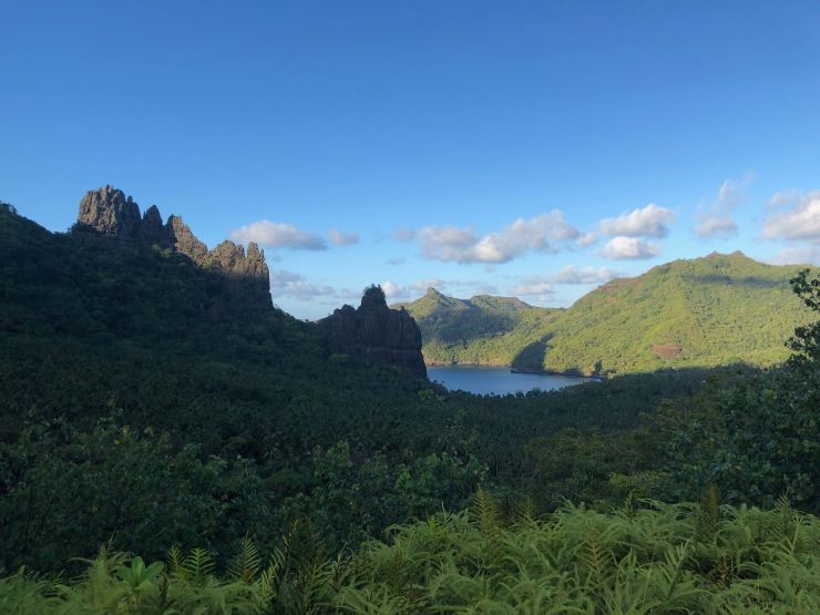 La baie d'Anaho - Nuku Hiva - Iles Marquises - Polynésie