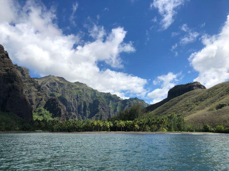 Découverte de la Baie d'Hakaui par la mer - Nuku Hiva - Iles Marquises - Polynésie