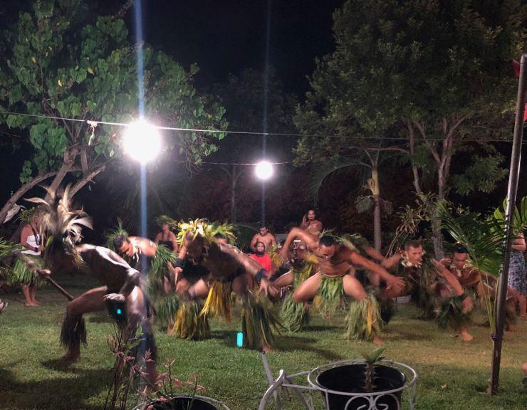La danse du cochon - Taiohae - Nuku Hiva - Iles Marquises - Polynésie