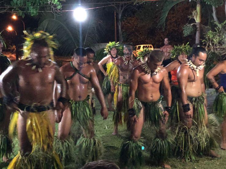 Danse Marquisienne- Taiohae - Nuku Hiva - Iles Marquises - Polynésie