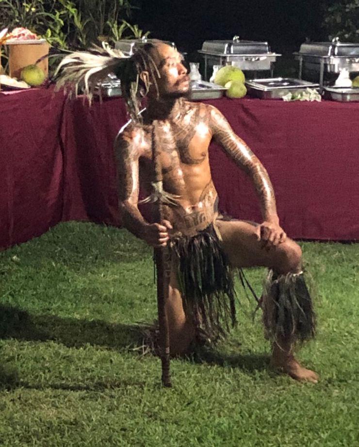 Danseur Marquisien- Taiohae - Nuku Hiva - Iles Marquises - Polynésie
