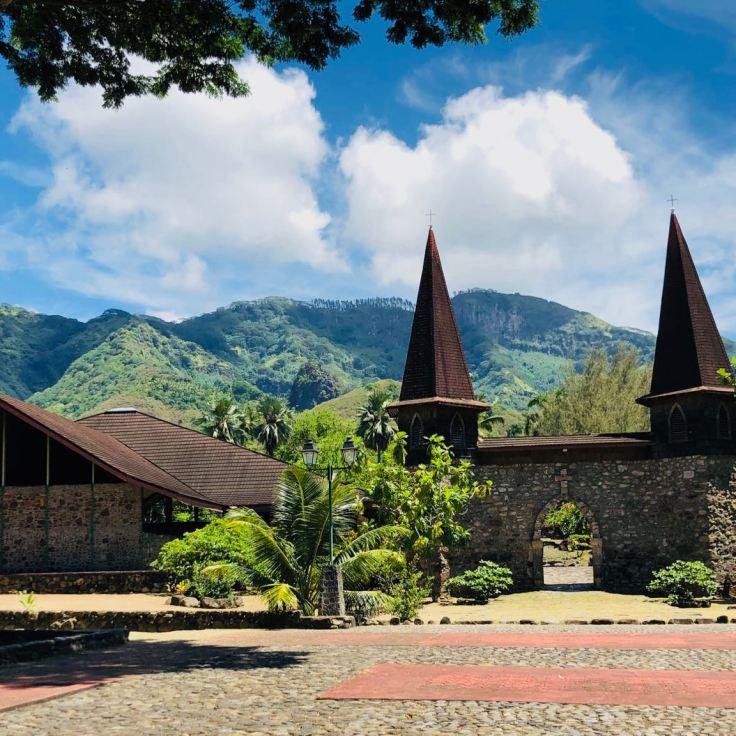 Notre-dame-des-Iles-Marquises - Taiohae - Nuku Hiva - Iles Marquises - Polynésie