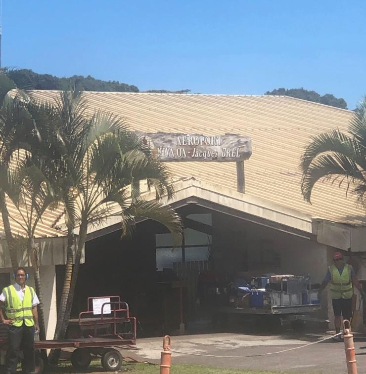 Bienvenue à Hiva Oa - Aéroport Jacques Brel - Iles Marquises - Polynésie