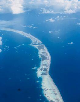 Les Atolls des Tuamotu vus du ciel - Polynésie