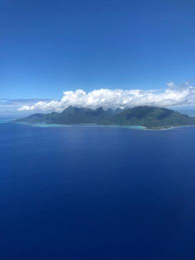 Moorea vu du ciel - Polynésie