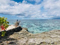 Vue du Lagoonarium - Moorea - Polynésie