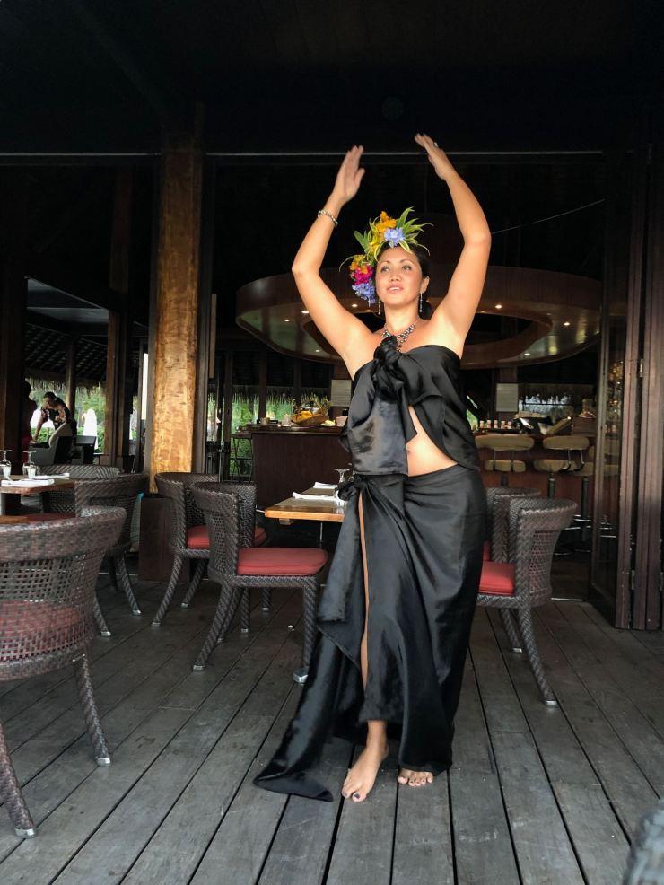 Danseuse Polynésienne - Sofitel - Moorea - Polynésie