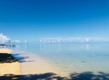 Eau cristalline - Moorea - Polynésie