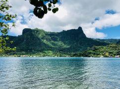 Relief de Moorea - Polynésie