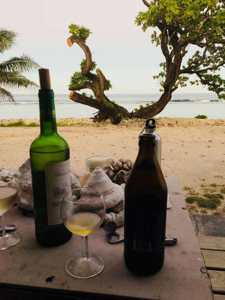 Apéro Time au Tifaifai et Café - Huahine - Polynésie