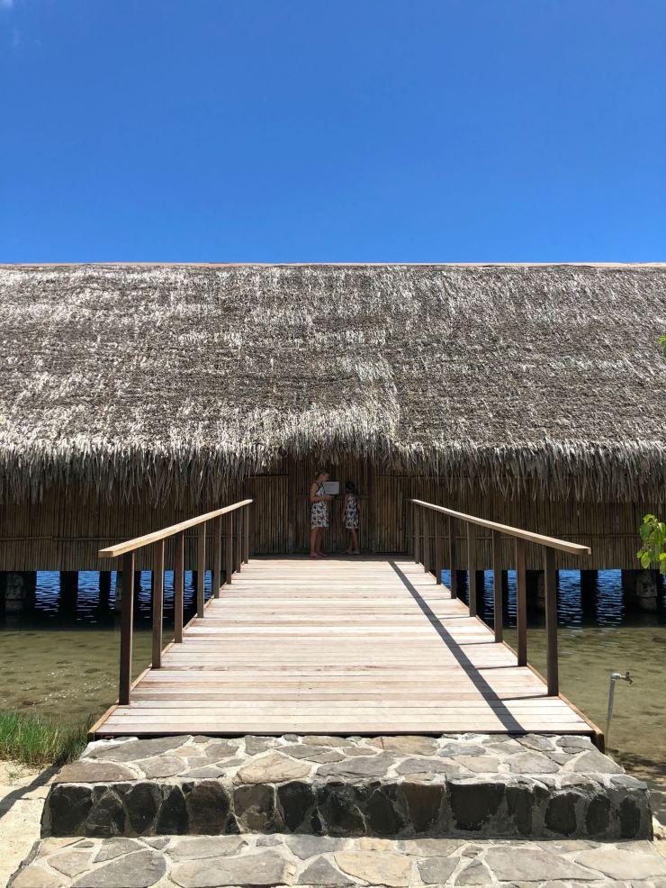 Tentative de visite du Fare Potee - Huahine - Polynésie